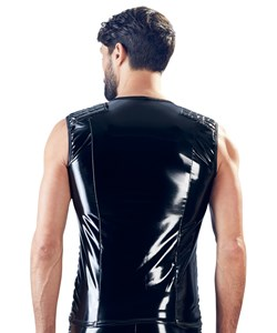 Biker Vinyl Shirt for Men